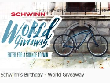 Schwinn's Join the Club – Kid's Club Gear Up Giveaway Sweepstakes