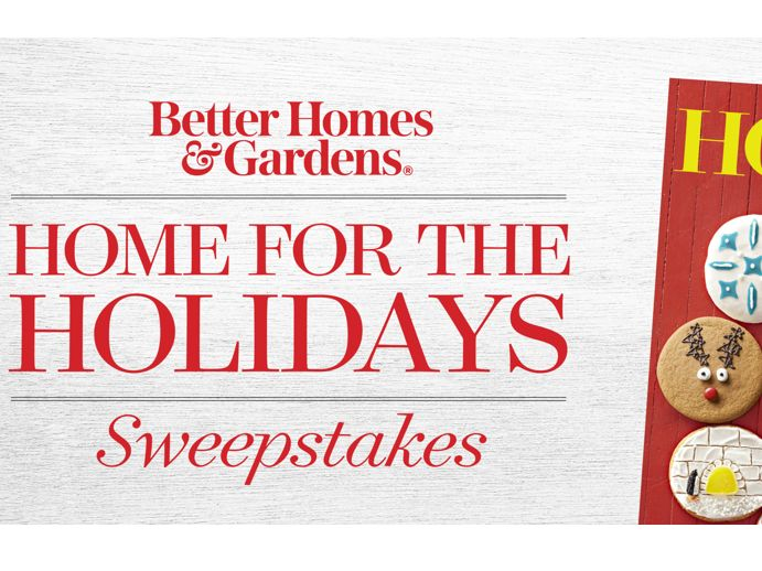 Better Homes Garden Home For The Holidays Sweepstakes