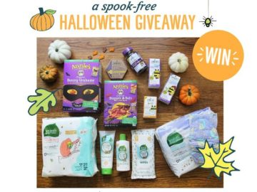 Annie's and Zarbee's Spook-Free Halloween Giveaway Sweepstakes
