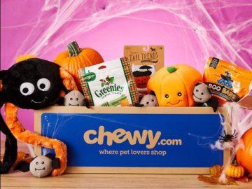 Chewy.com Halloween Goody Box Giveaway Sweepstakes