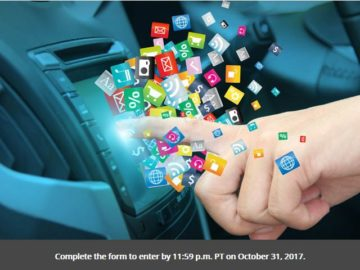 Roadshow's Smart Car Stereo Sweepstakes