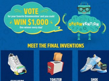Dreamvention Voting Instant Win Game