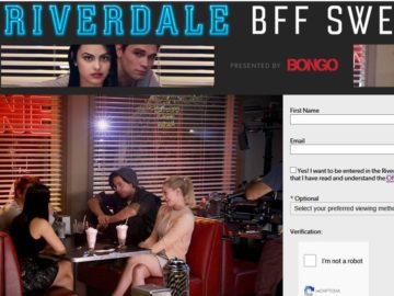 "CW Television Network  ""Riverdale BFF Sweepstakes With Bongo"" Sweepstakes"