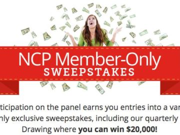 Join NCP and Win $250 Monthly Cash