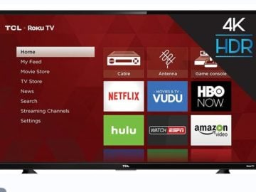 Win a 55 inch Roku TV from Ellen