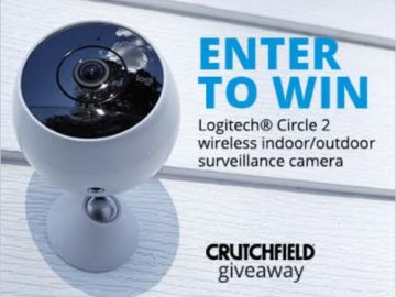 "Crutchfield Logitech Circle 2 ""Great Gear Giveaway"" 2017 Sweepstakes"
