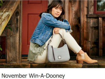 Dooney & Bourke November Win-A-Dooney Sweepstakes – Facebook