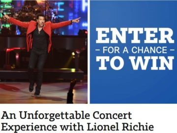 Southwest Magazine Unforgettable Concert Experience with Lionel Richie Sweepstakes