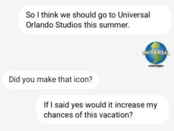 Win a Trip to Universal Studios (Twitter or Instagram)