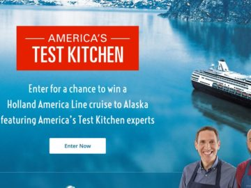 America's Test Kitchen Culinary Journey 2017 Sweepstakes