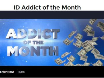 Investigation Discovery Addict Of The Monthgiveaway
