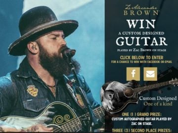 Z. Alexander Brown Guitar Sweepstakes