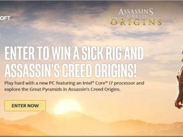 Intel Assassin's Creed Origin PC Sweepstakes