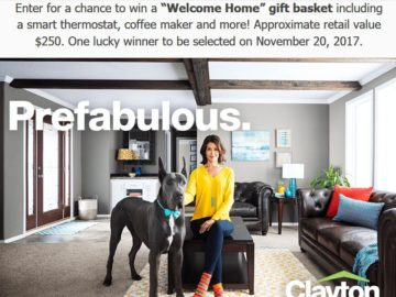 Clayton Homes Have It Made Giveaway Sweepstakes