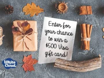 White Cloud Friday Sweepstakes