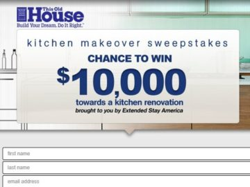 Extended Stay America Kitchen Makeover Sweepstakes