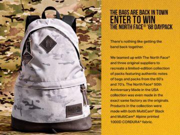 CORDURA Brand #CORDURA50 Gear Giveaway Sweepstakes