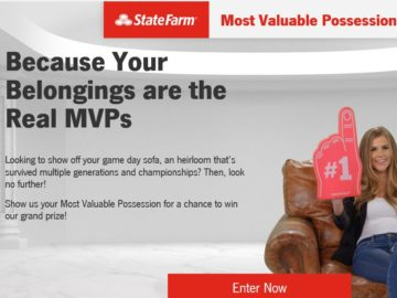 State Farm Most Valuable Possessions Contest
