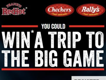 Frank's RedHot & Checkers/Rally's Big Game 52 Sweepstakes