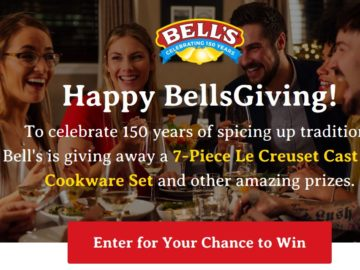 BellsGiving Sweepstakes