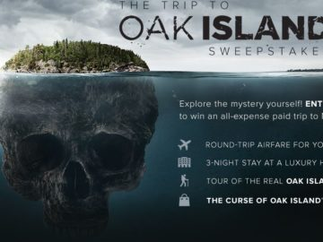 Trip to Oak Island Sweepstakes