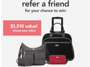 baggallini Refer a Friend Sweepstakes