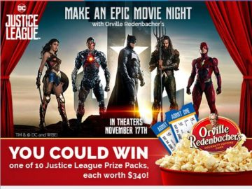 Orville Redenbacher Do Popcorn Justice Sweepstakes Sweepstakes