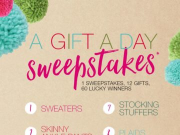 Maurices A Gift A Day Sweepstakes