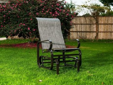 Win a SunLife Patio Garden Glider Sling Rocking Chair