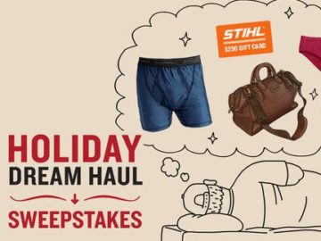 Duluth Trading Holiday Dream Haul Sweepstakes