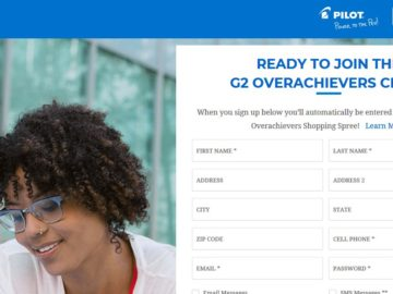 "Target ""G2 Overachievers Club"" Sweepstakes"