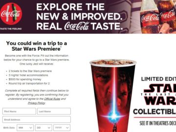 Coca-Cola Zero Sugar Sweepstakes