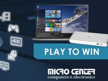 Micro Center's Thunderbolt 3 Sweepstakes