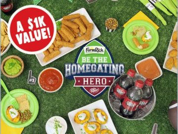 Homegating hero sweepstakes