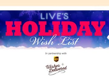 LIVE's Holiday Wish List Contest