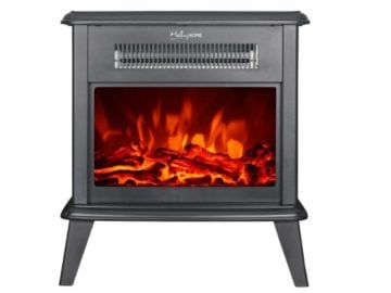 Win a HollyHOME Free Standing Electric Fireplace