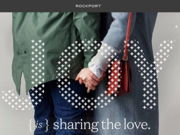 Rockport Share the Joy Sweepstakes
