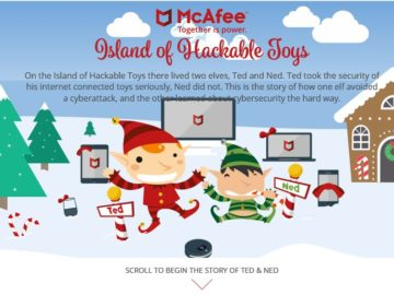 McAfee Island​ ​of​ ​Hackable​ ​Toys​ ​Sweepstakes