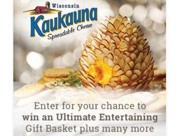 Kaukauna Spreadable Cheese #InspireWithCheese Sweepstakes