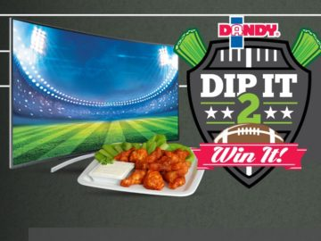 Dandy Dip it 2 Win it Sweepstakes