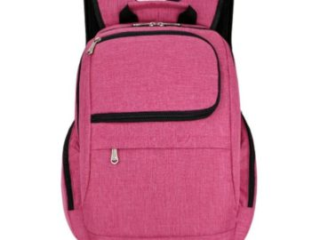 Win an Adorable Pink Backpack! 5 Winners!