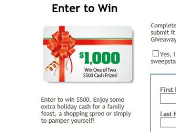 Better than Bouillon Holiday Cash Giveaway Sweepstakes