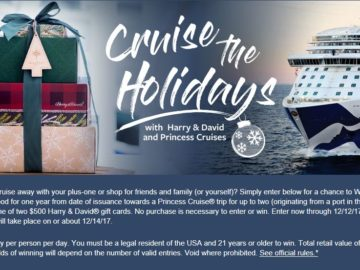 Harry & David's Cruise the Holidays Sweepstakes