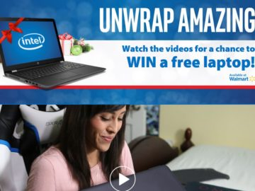 Intel Unwrap Amazing Sweepstakes