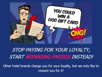Extended Stay America's Stop Paying for Your Loyalty Giveaway Sweepstakes