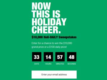 Holi-DAILY Sweepstakes