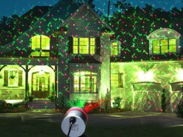 Win a MixMart Christmas Projector Lights