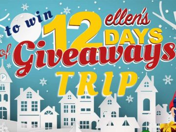 Ellen's 2017 12 Days of Giveaways Sweepstakes