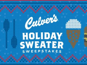 Culver's Holiday Sweater Sweepstakes – Limited States
