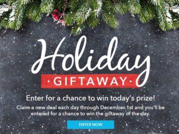 RetailMeNot Holiday Sweepstakes